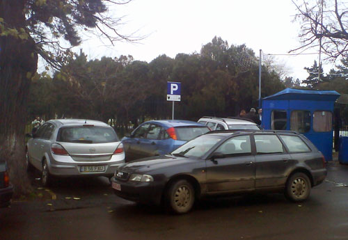 Parking made in Romania