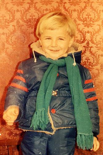 Da, am fost blond