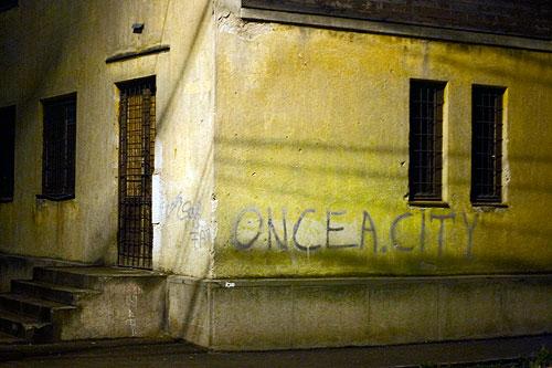 Once a city…