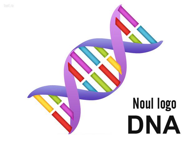 Noul logo DNA